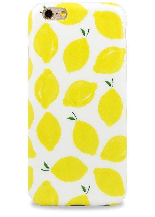 Чехол для iPhone 6+/6S+ Pastila (Лимон)