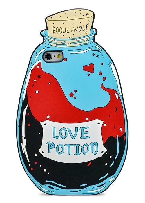 Чехол для iPhone 6+/6S+ Rocue+wolf (Love potion)