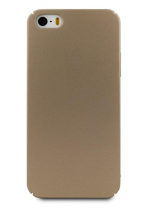 Чехол для iPhone 6+/6S+ Soft plastic (Золотой)