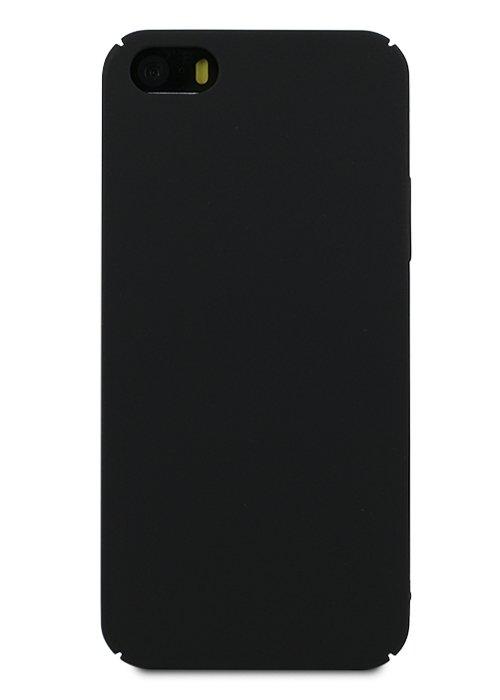 Чехол для iPhone 6+/6S+ Soft plastic (Черный)