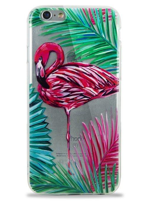 Чехол для iPhone 6+/6S+ Tropic (Одинокий фламинго)