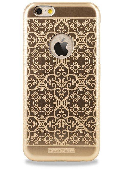 Чехол для iPhone 6+/6S+ Билайн узор (Завитушка Золото)
