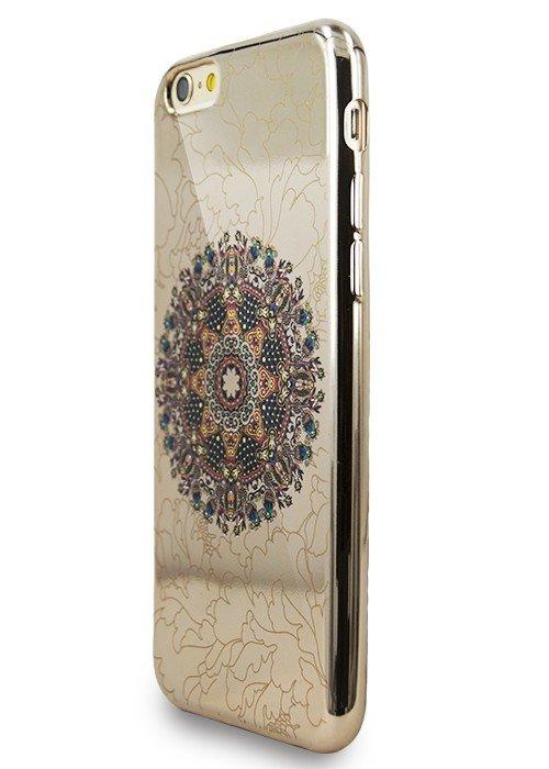 Чехол для iPhone 6+/6S+ Винтаж (Мандала Черная)