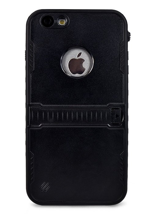 Чехол для iPhone 6+/6S+ Водонепронецаемые (Черный)