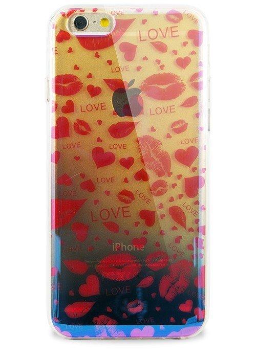 Чехол для iPhone 6+/6S+ Закат (Love)