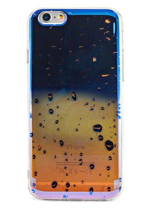 Чехол для iPhone 6+/6S+ Закат (Капли)