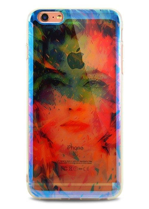 Чехол для iPhone 6+/6S+ Закат (Портрет в арте)