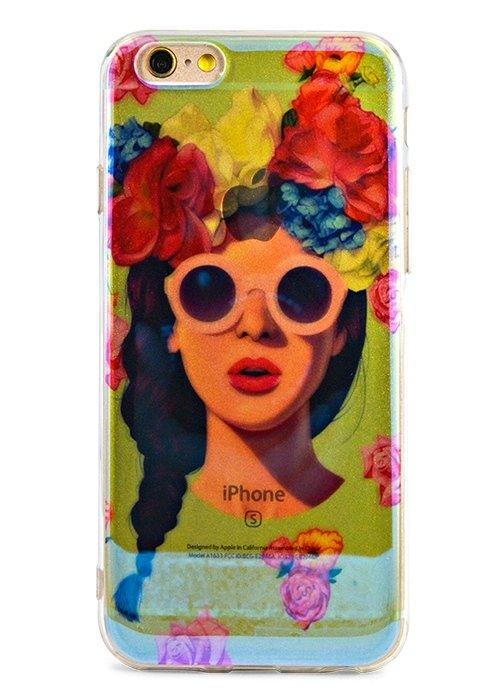 Чехол для iPhone 6+/6S+ Закат (Хиппи)