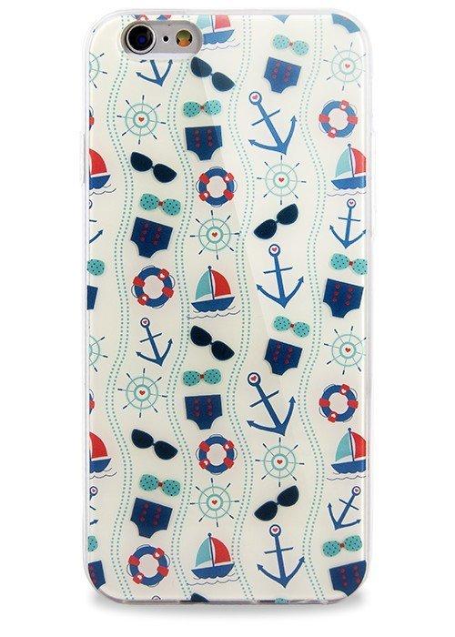 Чехол для iPhone 6+/6S+ Легкость (Море)