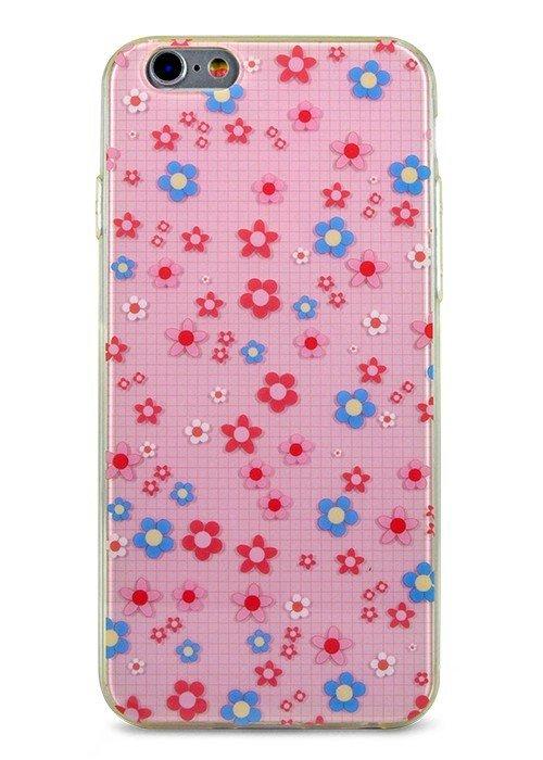 Чехол для iPhone 6+/6S+ Легкость (Ромашки)