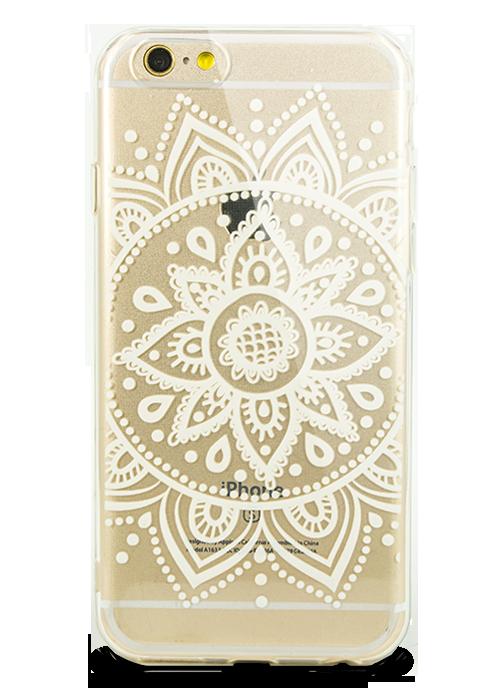 Чехол для iPhone 6+/6S+ Молодость (Белый цветок )