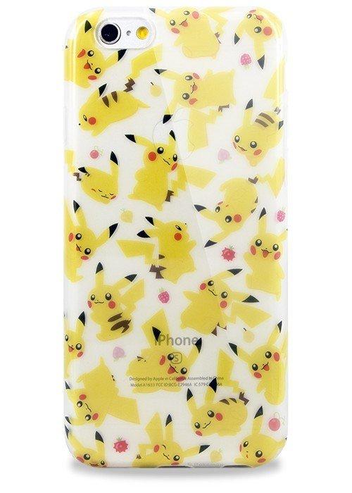 Чехол для iPhone 6+/6S+ Покемоны (Пикачу)
