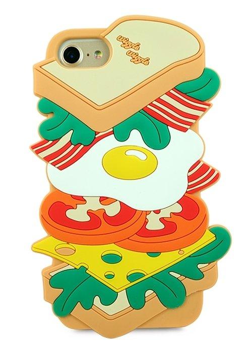 Чехол для iPhone 6/7/8 Sandwich (Бежевый)