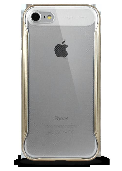 Чехол для iPhone 7 Baseus Fusion (Золото)