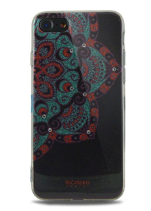 Чехол для iPhone 7 Beckberg Golden Faith (Черный)