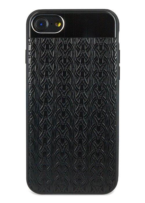 Чехол для iPhone 7 Celtic (Узор (черный))