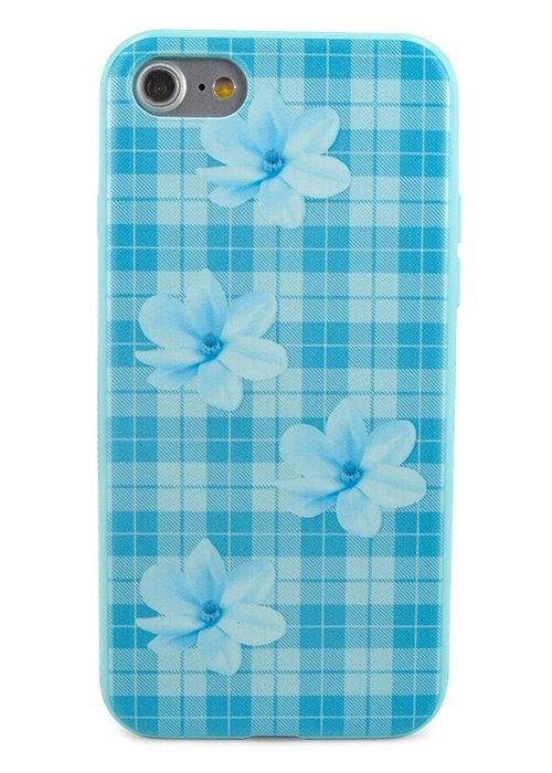 Чехол для iPhone 7 Cloth (Голубой)