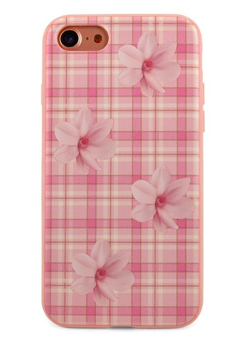 Чехол для iPhone 7 Cloth (Розовый)