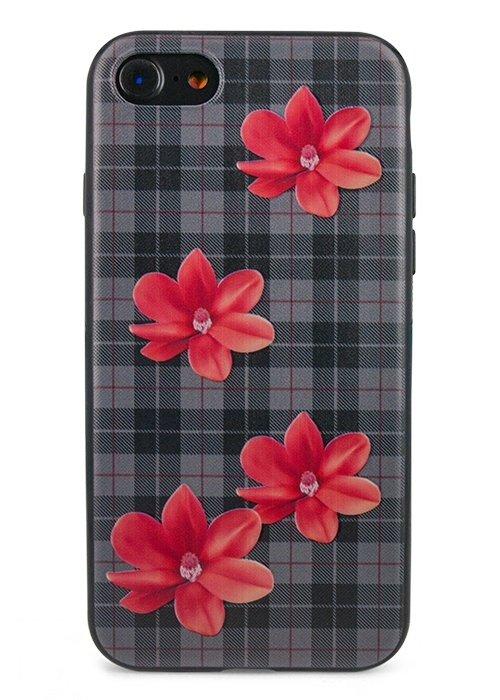 Чехол для iPhone 7 Cloth (Черный)