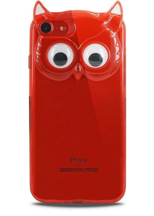 Чехол для iPhone 7 Creative Owl (Красный)