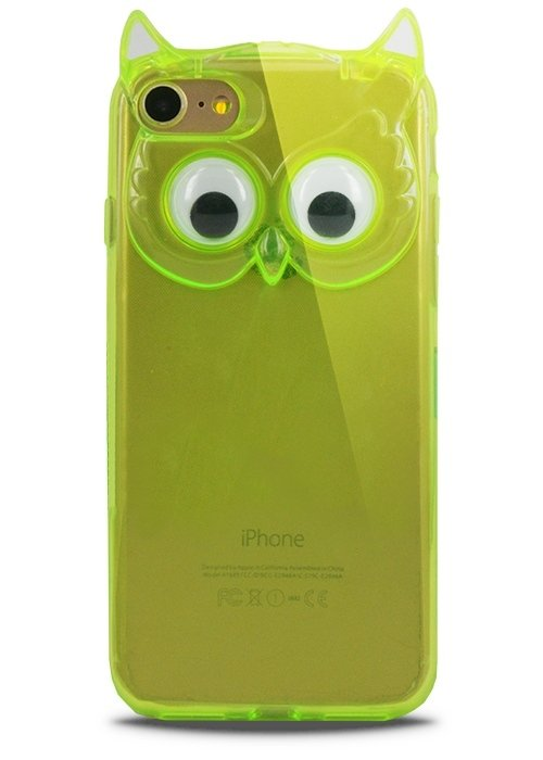 Чехол для iPhone 7 Creative Owl (Салатовый)