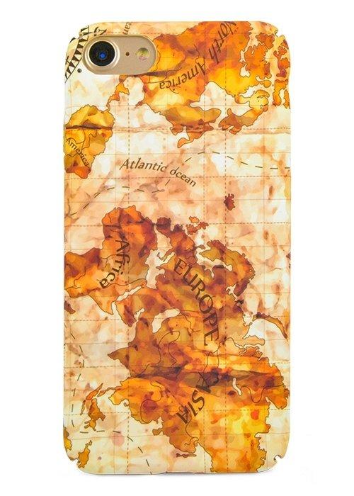 Чехол для iPhone 7 Discovery (Карта Земли)