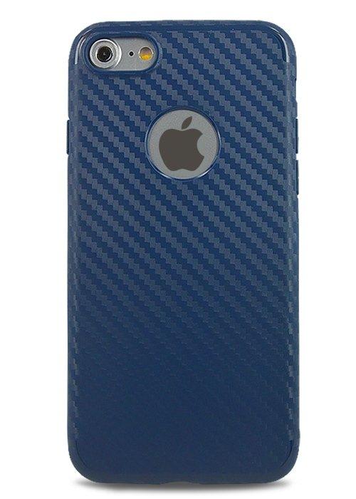 Чехол для iPhone 7 Hoco Shadow Carbon (Blue)