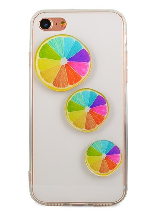 Чехол для iPhone 7 Kids (Цветной цитрус)