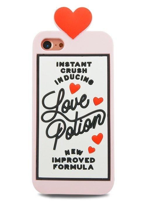 Чехол для iPhone 7 Love Potion (Розовый)