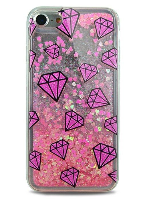 Чехол для iPhone 7 Lovely stream силикон Lux (Diamonds)