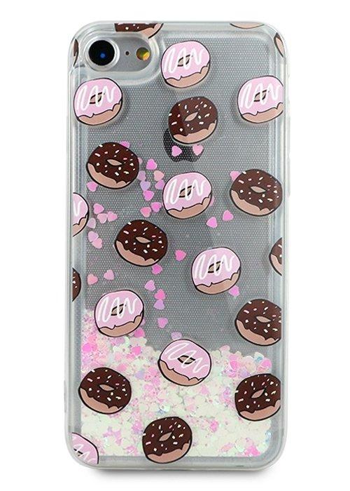 Чехол для iPhone 7 Lovely stream силикон Lux (Donuts in glaze)