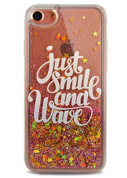Чехол для iPhone 7 Lovely stream силикон Lux (Just smile)