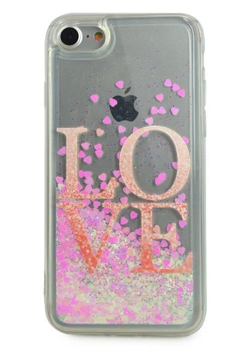 Чехол для iPhone 7 Lovely stream силикон Lux (Love)