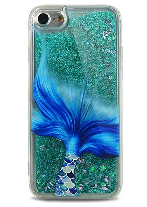 Чехол для iPhone 7 Lovely stream силикон Lux (Mermaid's tail)