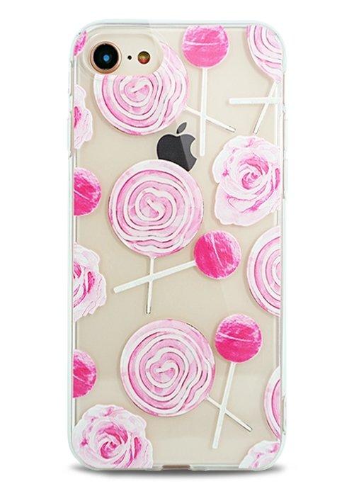 Чехол для iPhone 7 Lovely силикон (Candy)