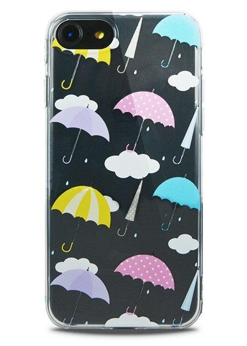 Чехол для iPhone 7 Lovely силикон (Зонты)