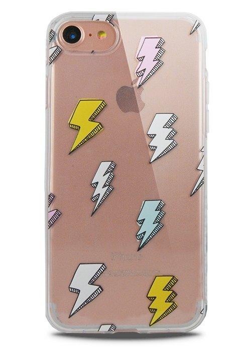 Чехол для iPhone 7 Lovely силикон (Молния)