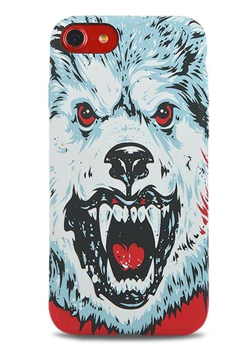 Чехол для iPhone 7 Luxo Animals Botb (Медведь)