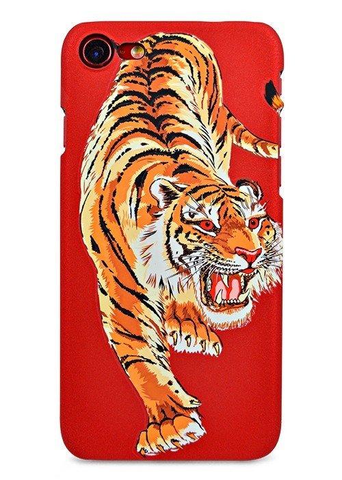 Чехол для iPhone 7 Luxo Animals soft touch пластик (Китайский тигр)