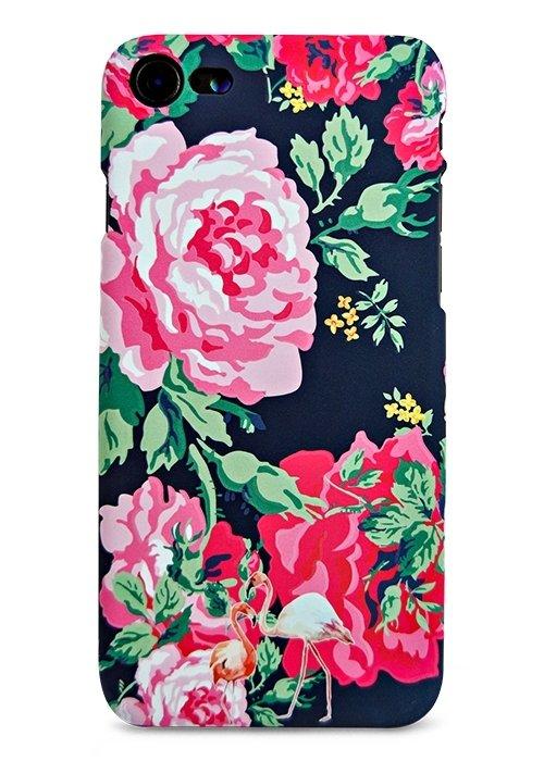 Чехол для iPhone 7 Luxo Animals soft touch пластик (Розы)