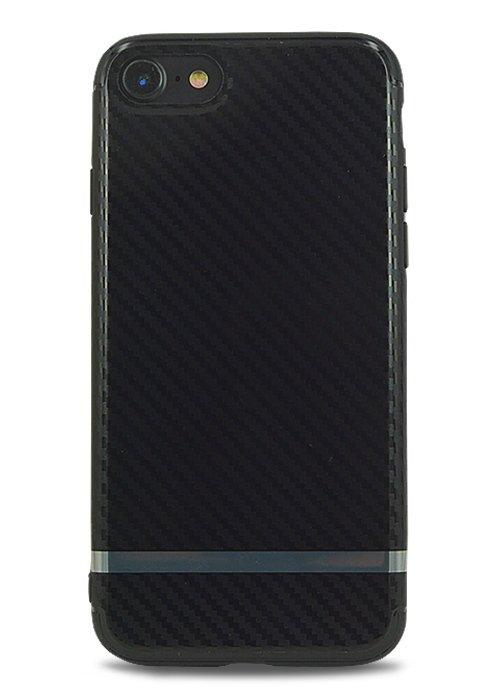 Чехол для iPhone 7 Man's style (Carbon line)