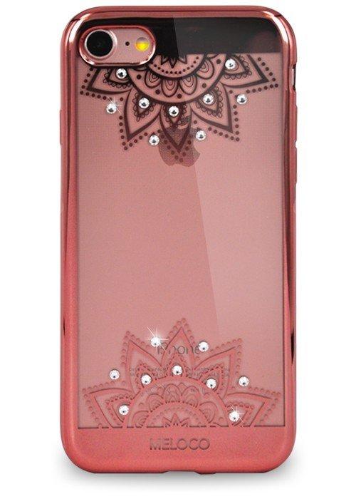 Чехол для iPhone 7 Meloco Beck (День и ночь Розовый)