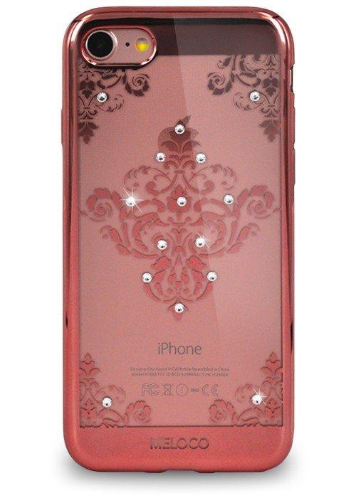 Чехол для iPhone 7 Meloco Beck (Узор Розовый)