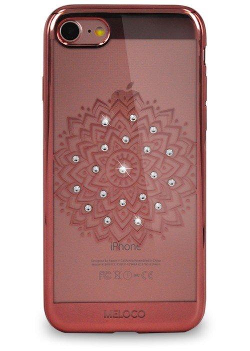 Чехол для iPhone 7 Meloco Beck (Цветок Розовый)