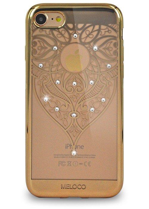Чехол для iPhone 7 Meloco Beck (Эльфийский узор Золото)