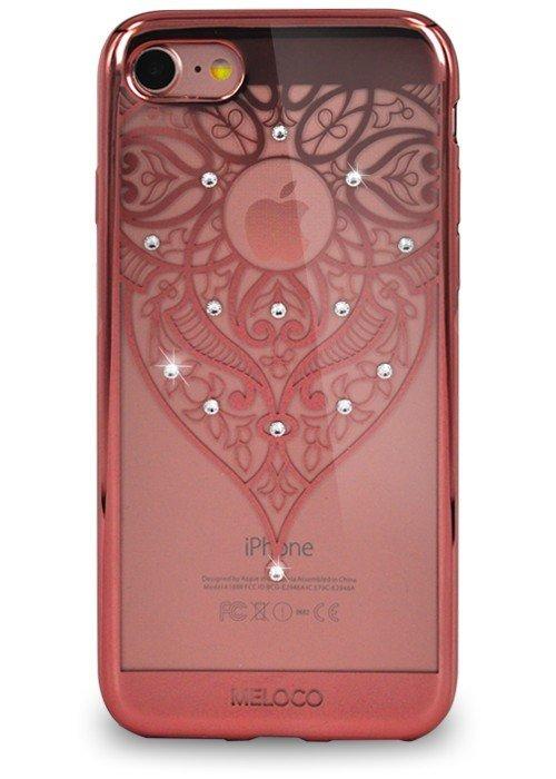 Чехол для iPhone 7 Meloco Beck (Эльфийский узор Розовый)