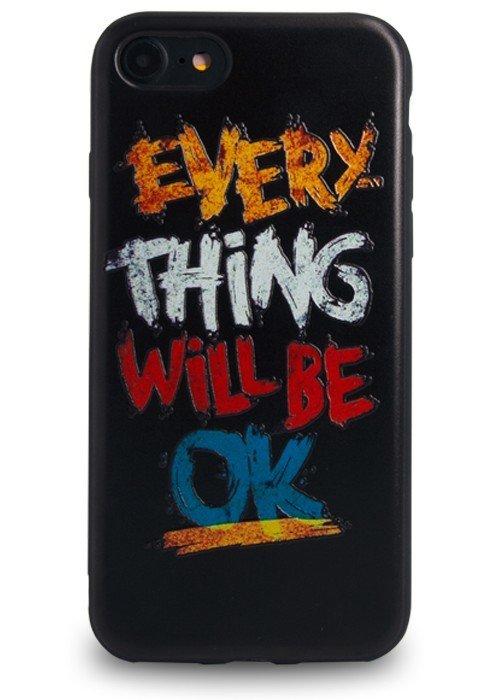 Чехол для iPhone 7 Paint (Will be ok)
