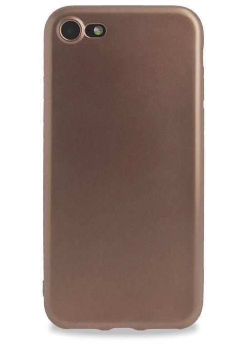 Чехол для iPhone 7 Pleasure силикон (Rose gold)