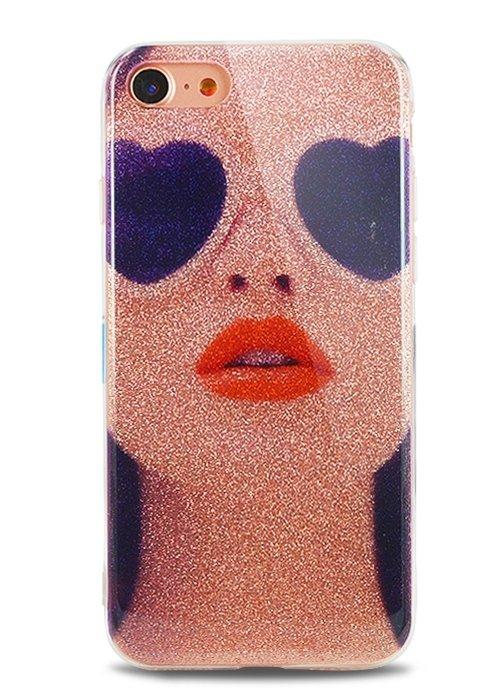 Чехол для iPhone 7 Sandy силикон (Girl)