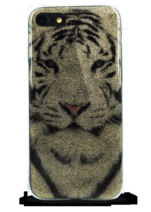 Чехол для iPhone 7 Sandy силикон (Тигр)